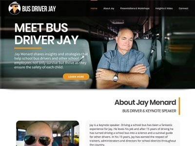 Bus Driver Jay | Keynote Speaker
