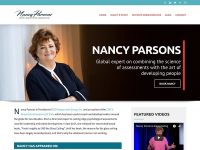 Nancy Parsons | Keynote Speaker, Leadership Expert, & Assessments Guru